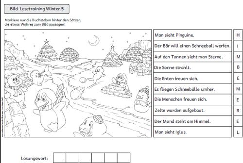 Outstanding Winter Mathe Arbeitsblätter 2Klasse Collection ...